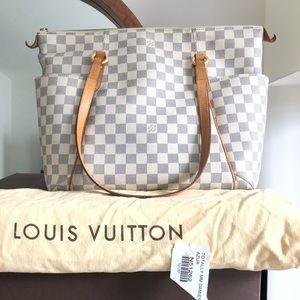 Louis Vuitton Totally mm Damier Azur